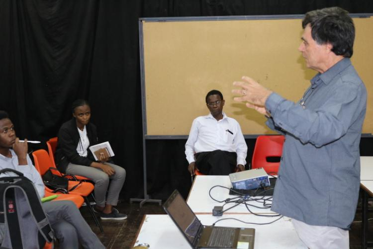 The schoool of Arts and Design was delighted to host Graham Young from University of Pretoria.
